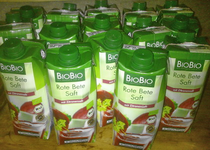 Bio Bio Rote Bete